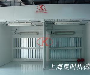 Environmental protection type dry painting booth for GRACO Shanghai Branch